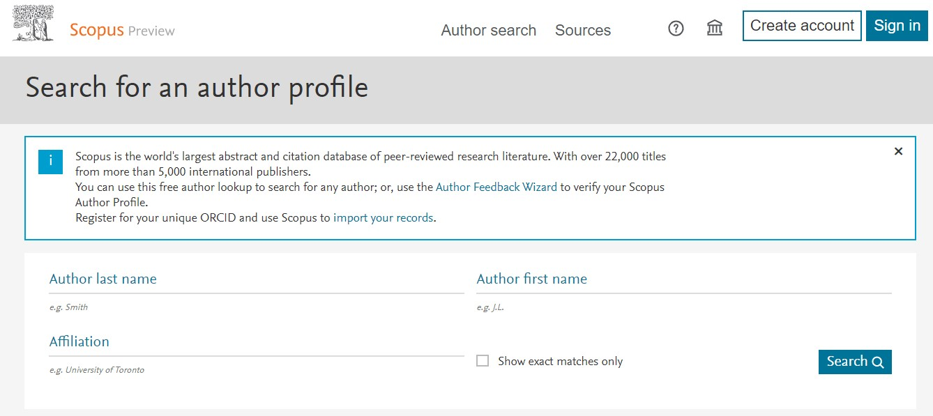 Профіль автора - Scopus Author ID